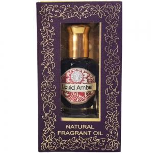 SOI Liquid Amber Roll-On Perfume Oil 10ml
