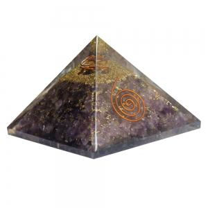 Amethyst Orgone Pyramid 7cm