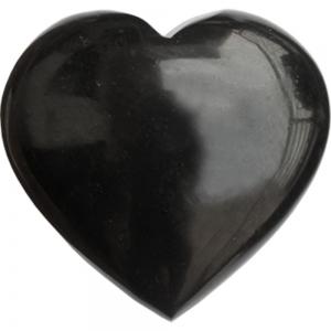 HEART - Black Tourmaline 7.5cm