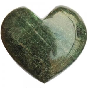HEART - Green Aventurine with Mica 7.5cm