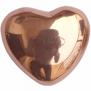 HEART - Copper  4.5cm x 4cm x 2.3cm