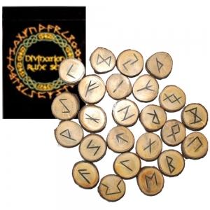 Wooden Rune Stones Set