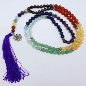 PRAYER MALA - Chakra with Lotus
