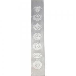 SELENITE - Chakra Charging Plate 4cm x 25cm