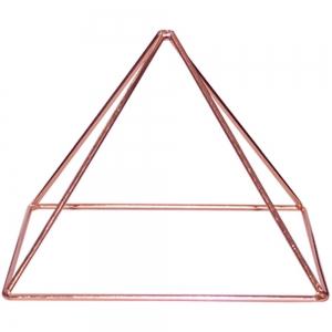 Copper Enegizer Pyramid 15cm