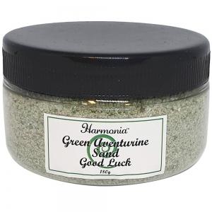Green Aventurine Crystal Sand in Jar 180 GMS