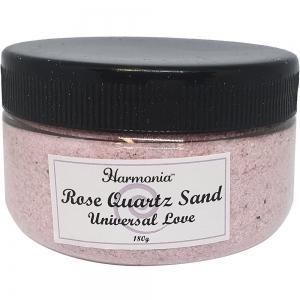 Rose Quartz Crystal Sand in Jar 180 GMS