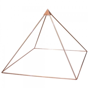 MEDITATION PYRAMID - Copper Pyramid 150cm (Assembly Required)