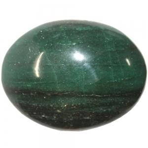PALM STONE - Green Aventurine Dark