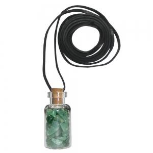 Green Aventurine Bottle Necklace