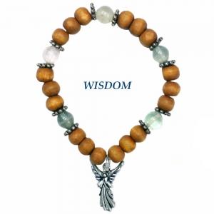 Archangel Metatron Fluorite Bracelet Wisdom