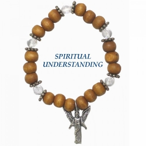 Archangel Raziel Quartz Bracelet Spiritual Understanding