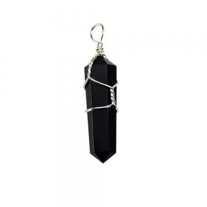 PENDANT - Point Obsidian 3.8cm