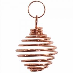PENDANT - Brass Cage Copper 1.9cm