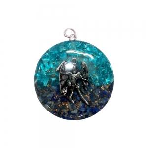 ORGONITE PENDANT - Michael Blue Topaz and Sodalite