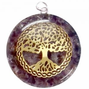 ORGONITE PENDANT - Amethyst Tree of Life
