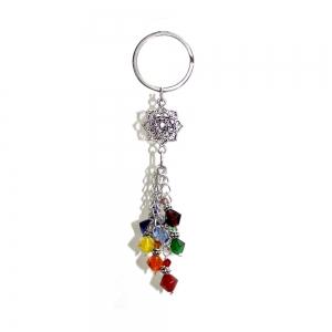 "5"" Chakra Lotus Key Chain"