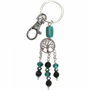 KEY CHAIN - Tree of Life Turquoise