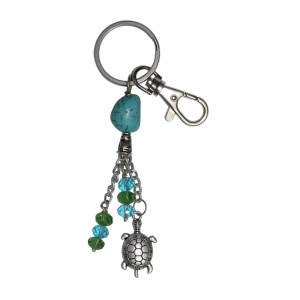 Turtle Tusquoise Key Chain