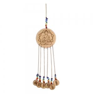 Buddha Wooden Charm Hanging