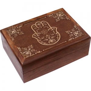 Blessing Hand Wooden Box