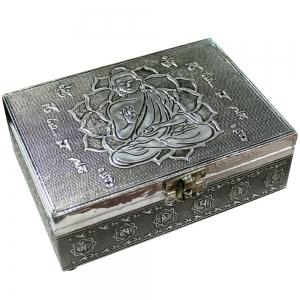 Aluminium Buddha Jewellery Box