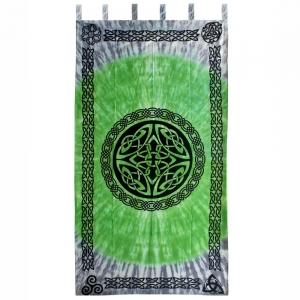 CURTAIN - Celtic Green Cotton 110cm x 223cm