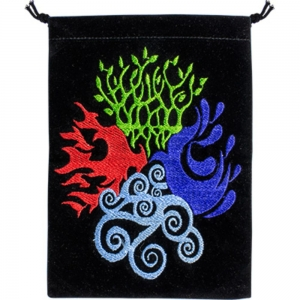 Four Elements Velvet Bags