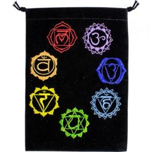 VELVET BAG - Chakra Velvet Bags 12.7cm x 17.7cm