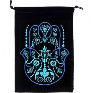 VELVET BAG - Blessing Hand 12.7cm x 17.7cm