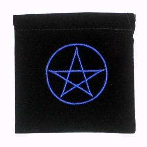 Pentacle Velvet Bag 10cmx10cm
