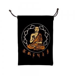VELVET BAG - Buddha 12.7cm x 17.7cm