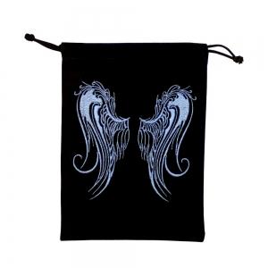 VELVET BAG - Angel Wings 12.7cm x 17.7cm