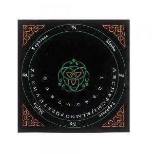 VELVET MAT - Celtic Ouija 30cm x 30cm