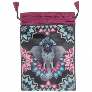 TAROT BAG - Ganesha Printed 15cm x 20cm