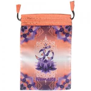 TAROT BAG - Namaste Printed 15cm x 20cm
