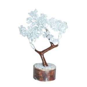 Clear Quartz 160 Bead Gem Tree
