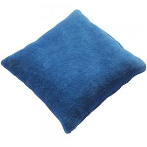 CUSHION - Blue Velvet 10cm
