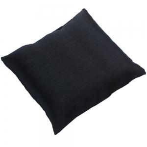 CUSHION - Black Satin 10cm