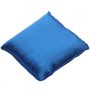 CUSHION - Cobalt Satin 10cm