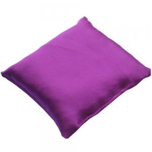 CUSHION - Purple Satin 10cm