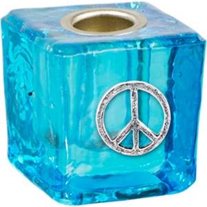 Aqua Peace Wish Candle Holder