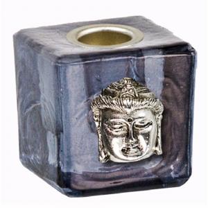 Buddha Grey Wish Candle Holder 3cm