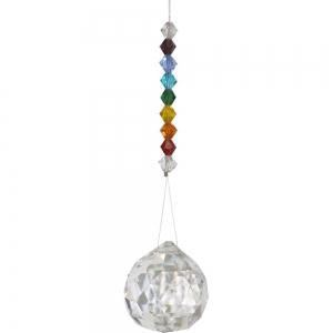Chakra Crystal Suncatcher 15cm