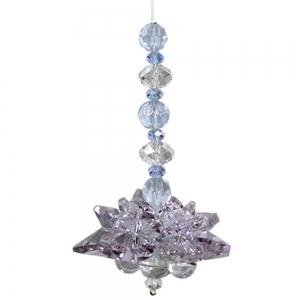 Purple Lotus Chakra Suncatcher