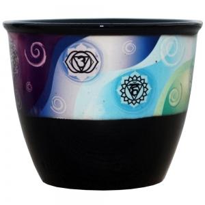 Chakra Print Smudge Bowl