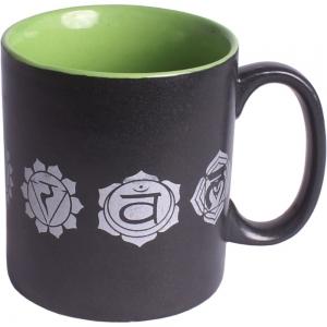 7 Chakra Print Ceramic Mug