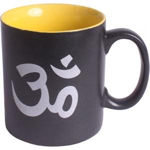 Om Print Ceramic Mug