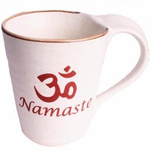 COFFEE MUG - Namaste Print Ceramic