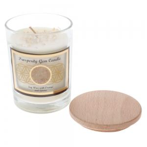 Gemstone Candle - Prosperity Citrine